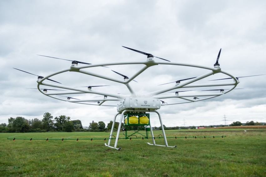 Dron gigante VoloDrone