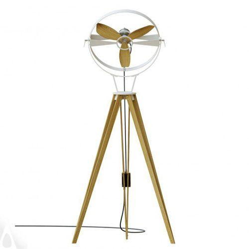 Ventilador de pie minimalista Aura diseñado por Marco Gallegos