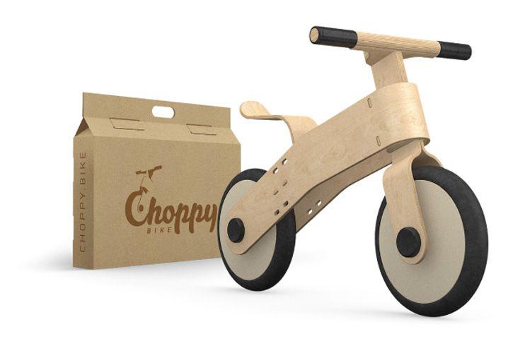 Choppy bicicleta sin pedales
