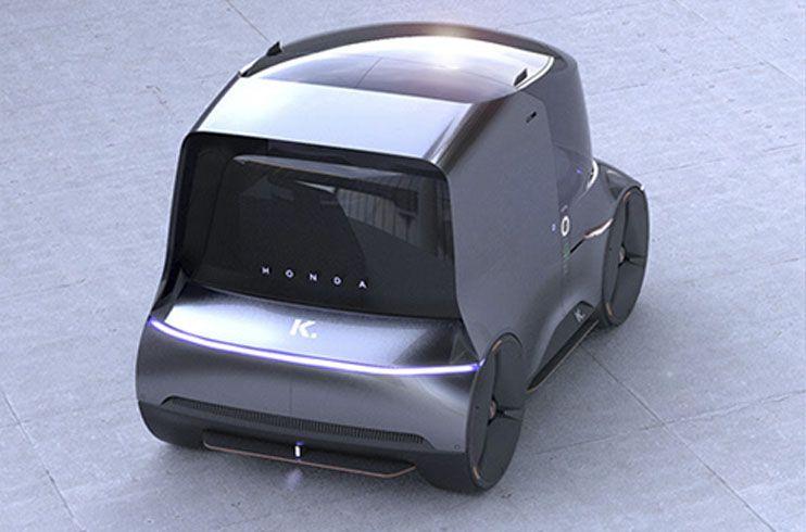 Honda Kei vehículo autónomo