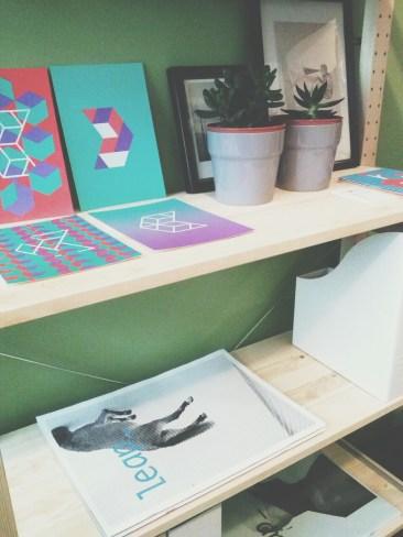 Bookshelf closeup view Unit 911 268 Flinders Street Home@Flinders Melbourne Studio by Ideas Dispenser