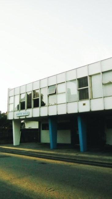Industrial office building Modernist St Kilda Melbourne