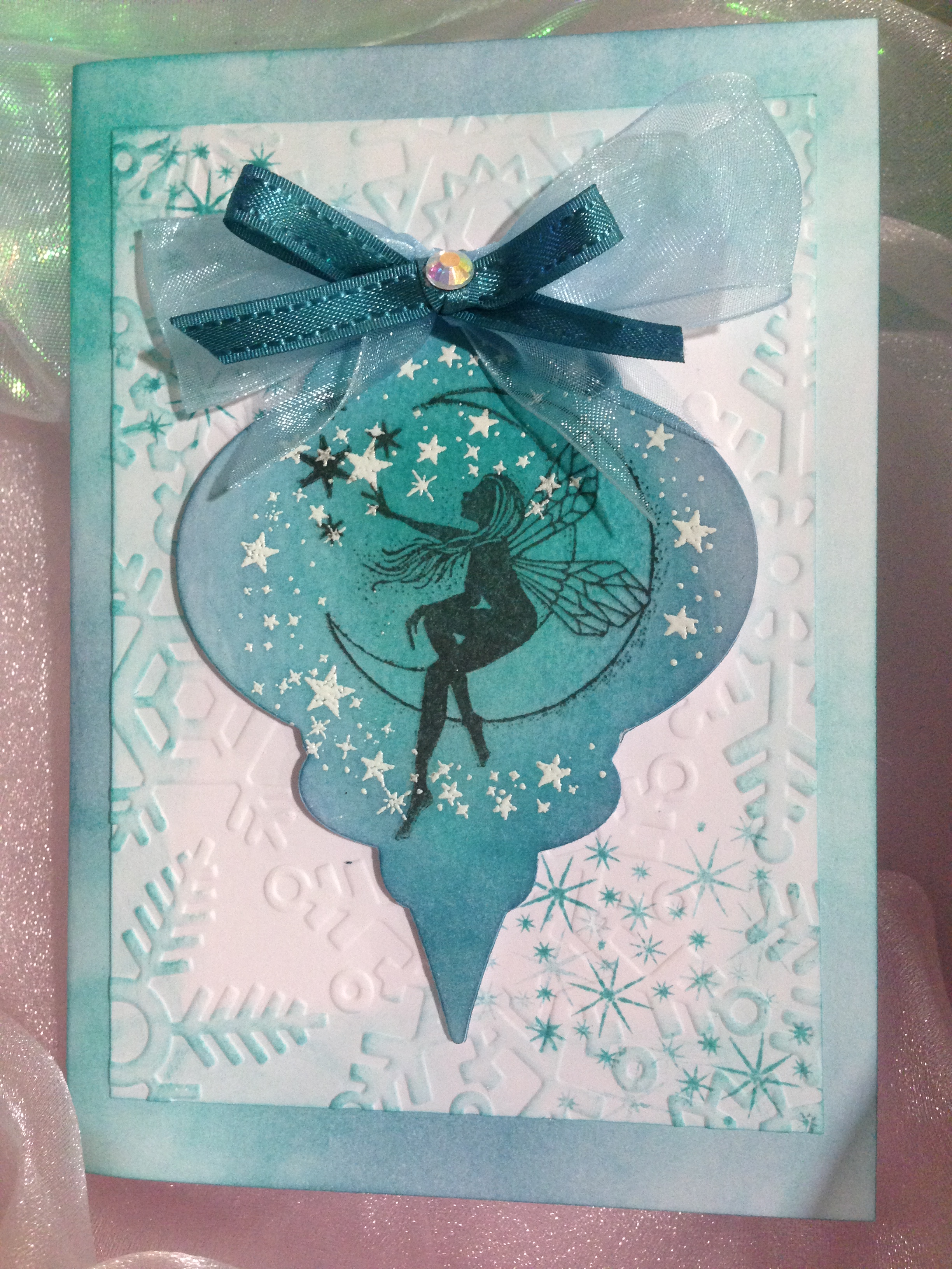 Fairy Christmas Card Ideas For Cardmaking