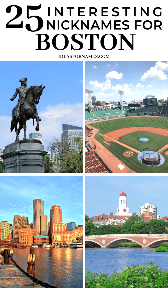 Nicknames for Boston, Other names #boston #beantown #bostonmass #nicknames