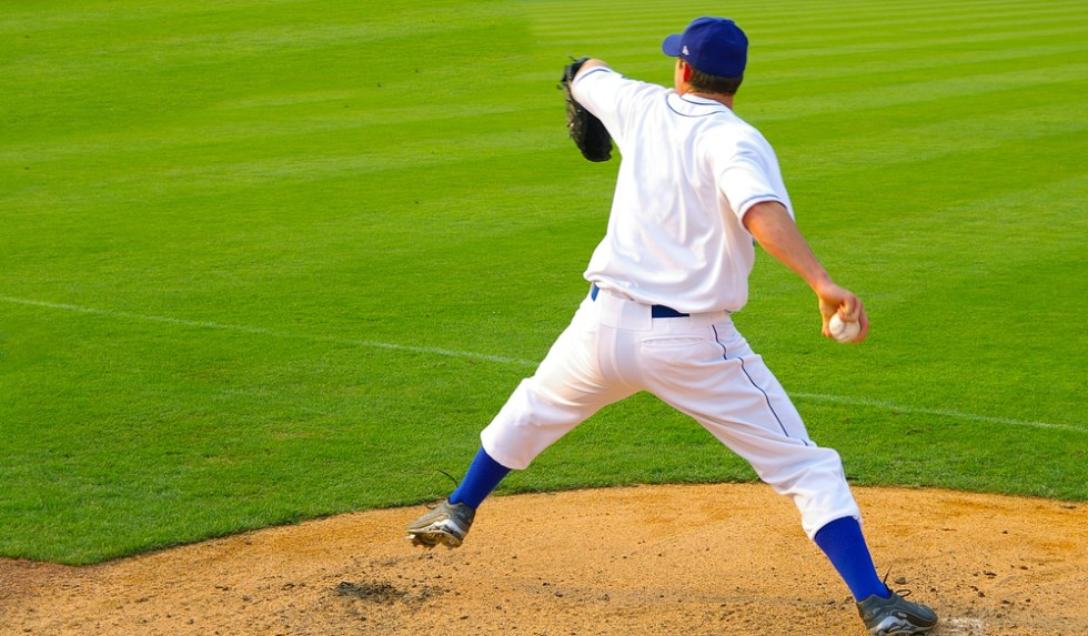 Funny Baseball And Softball Team Names That Are Sure To Be A Hit, pitcher on mound throwing