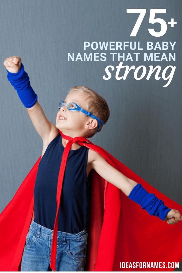 34+ English names that mean power info