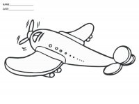 Ideas for Preschoolers: Coloring Pages