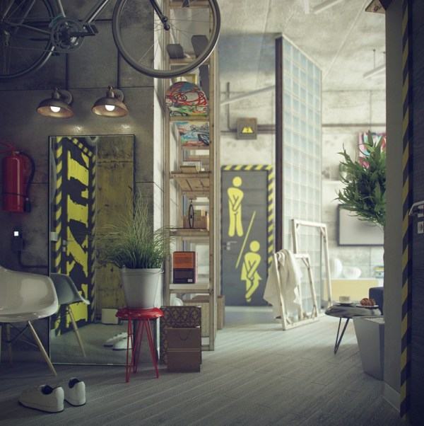 Industrial-Style Decorating Ideas
