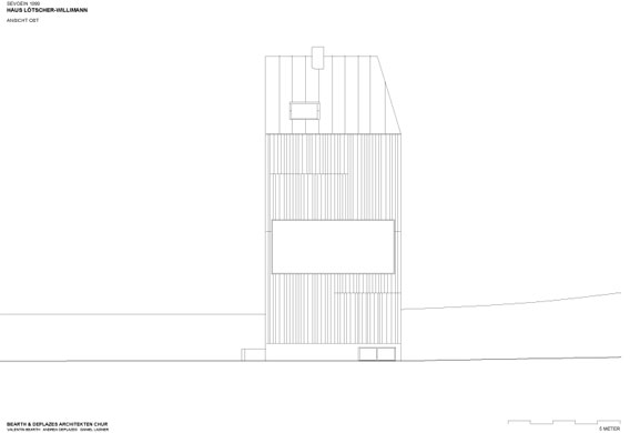 House Willimann-Lötscher by Bearth & Deplazes Plan 04
