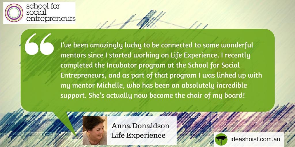 Anna Donaldson - Life Experience