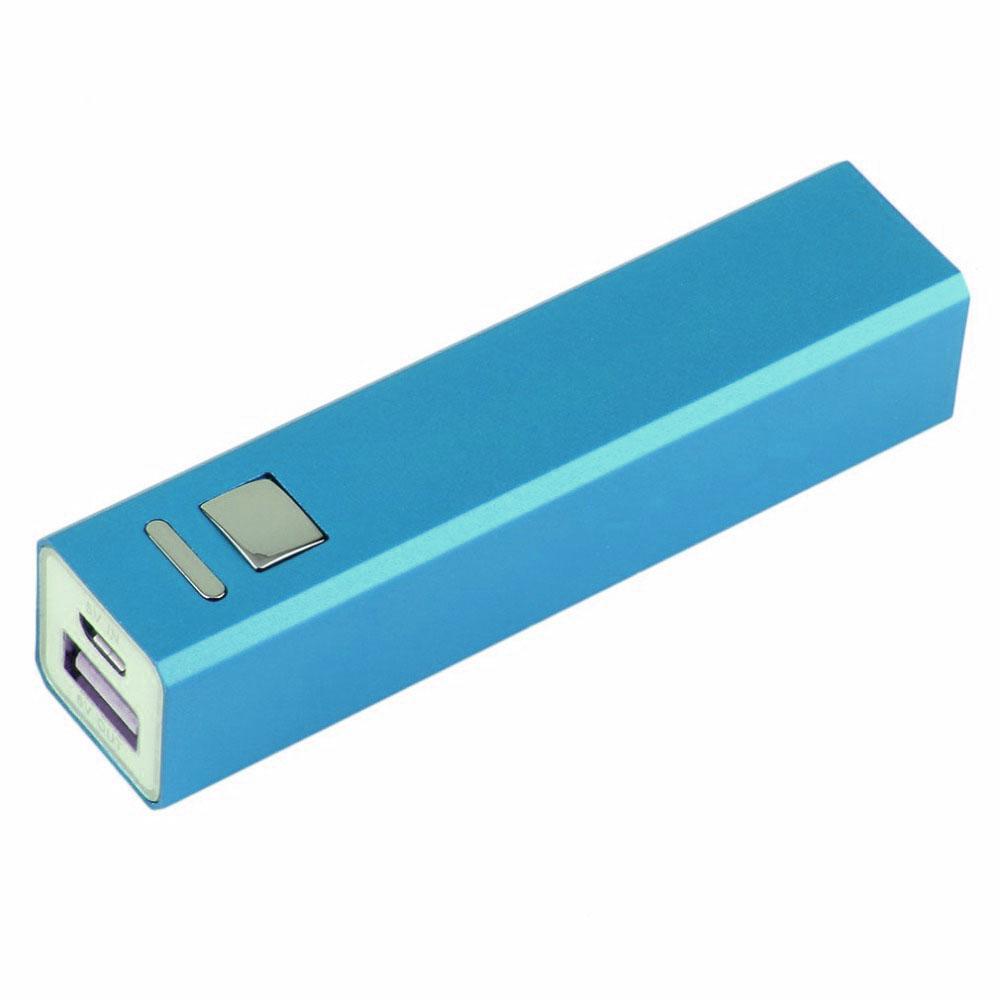 Внешний аккумулятор Power Bank 2600 mAh голубой купить в Минске