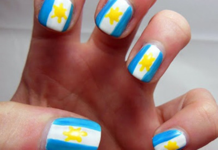 Ideas De Nail Art Con Banderas De Países Para Los Juegos Olímpicos
