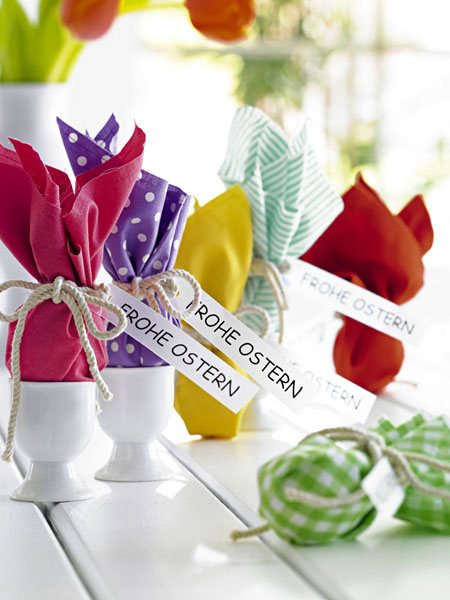 Imgenes con ideas para decorar la casa en Pascua de