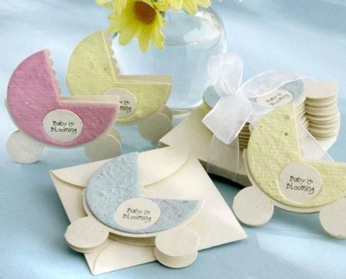 Ideas de invitaciones y recuerdos para Baby Shower