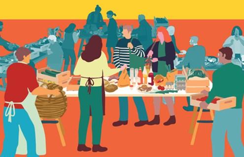 """""""La Colmena que dice sí"""" ofrecemos una cesta básica de productos que toda familia consume habitualmente, principalmente de alimentación"""