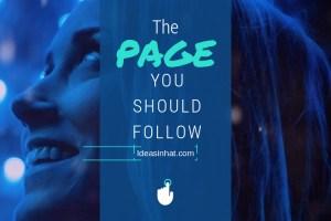 facebook call to action - girl