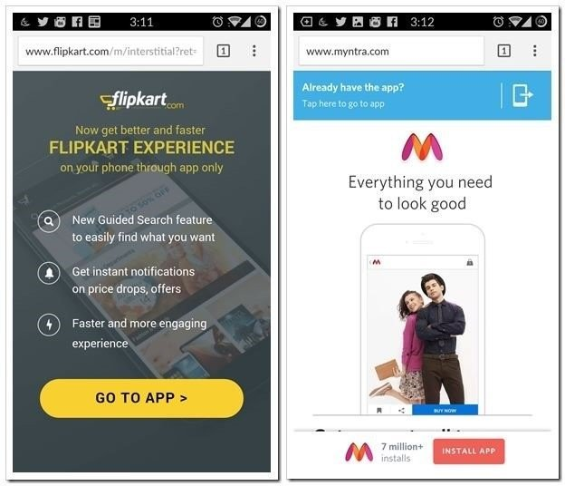 """Pics for """"Is App-Only Strategy Profitable in Indian Ecommerce Industry"""""""
