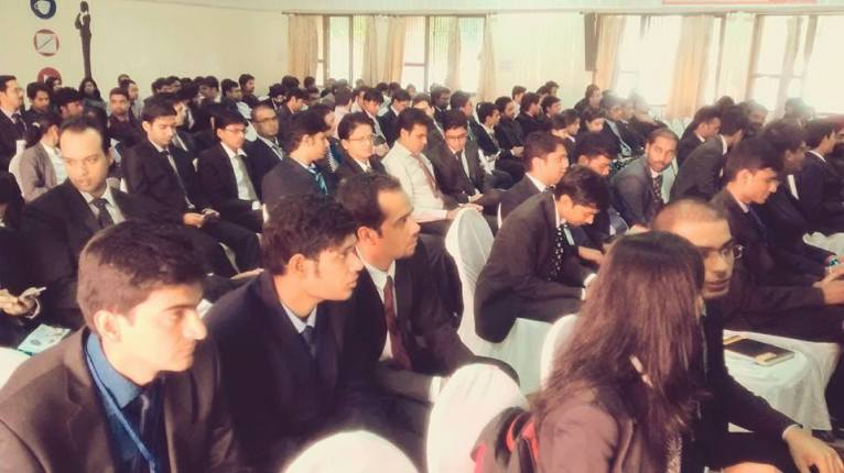 IIT Roorkee students at the event