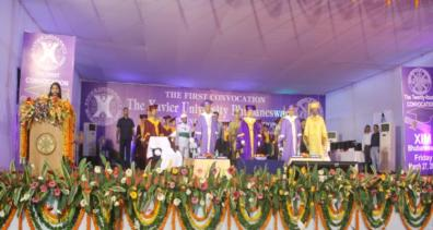 The dignitaries at the event