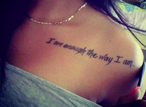 Ideas De Tatuajes Con Frases Cortas Diseños Para Mujeres Y Tatoo