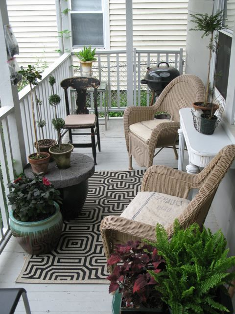 Ideas nuevas y modernas para decorar el balcn