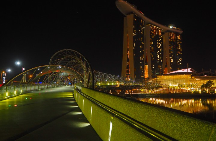 Sixteen Hours in Singapore