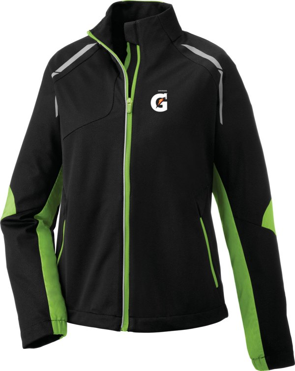 Dynamo Ladies' Hybrid Performance Soft Shell Jacket - Gatorade