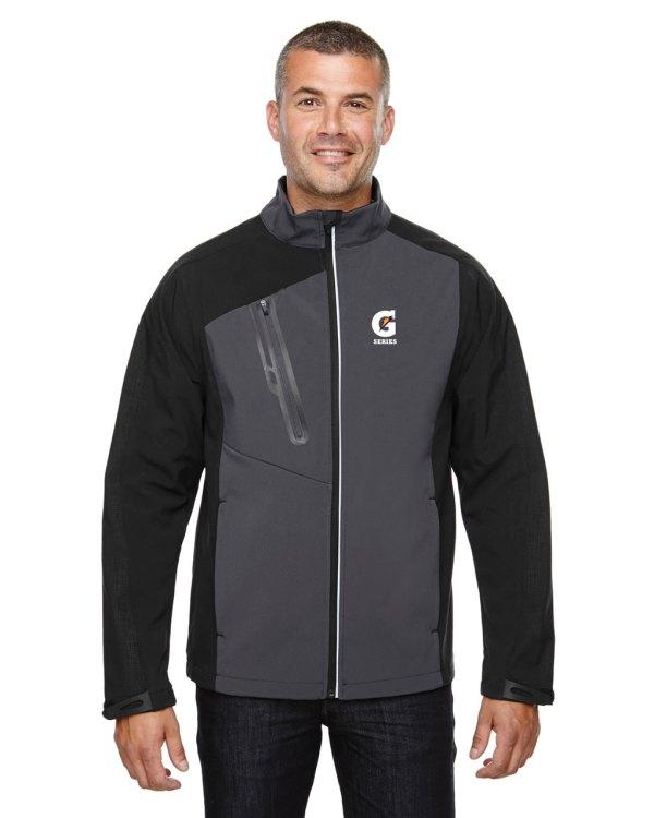 Terrain Men' Colour-block Soft Shell Jacket - Gatorade Series