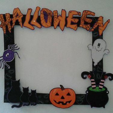 Halloween decoración board