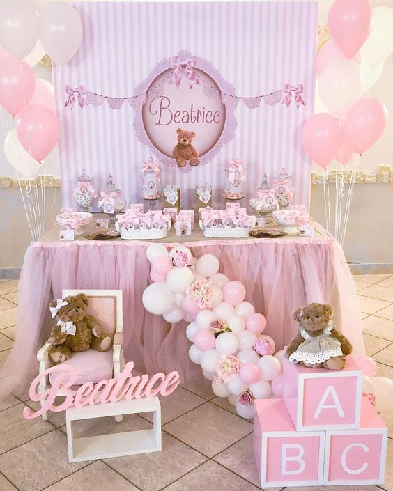 Decoracion De Mesa Para Baby Shower Ni�a : decoracion, shower, Decoracion, Shower, Viewer