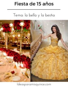 Decoracion De La Bella Y La Bestia Para 15 Anos Anophelesorg
