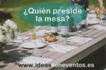 Presidencia de la mesa
