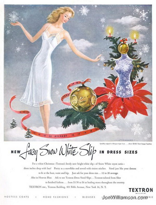 50 Beautiful Vintage Christmas Ads Showcase 2017