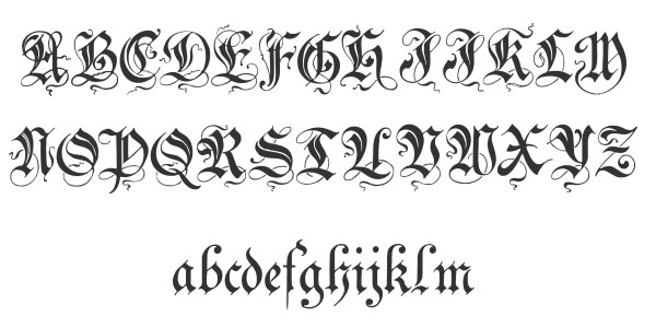 40 Free Cool Cursive Tattoo Fonts 2017