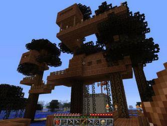 minecraft cool treehouse designs houses awesome hative idea blueprints tree treehouses nice funny source zapisano stuff