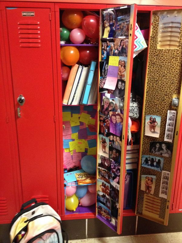 10 Cool Locker Decoration Ideas 2017