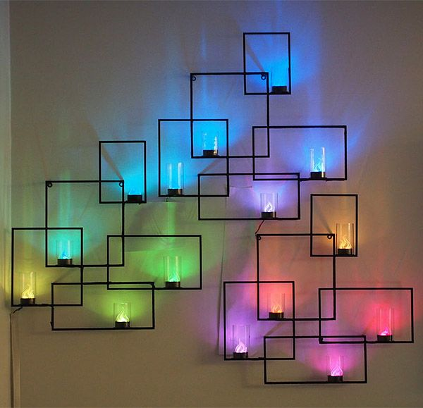 10 Creative LED Lights Decorating Ideas 2017