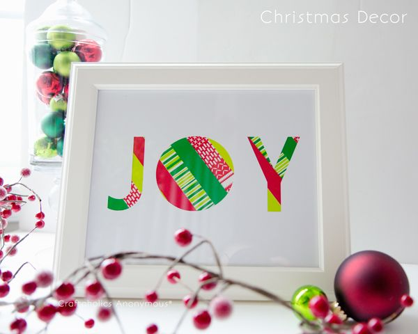 10 Cool Christmas Joy Sign Ideas Amp Tutorials 2017