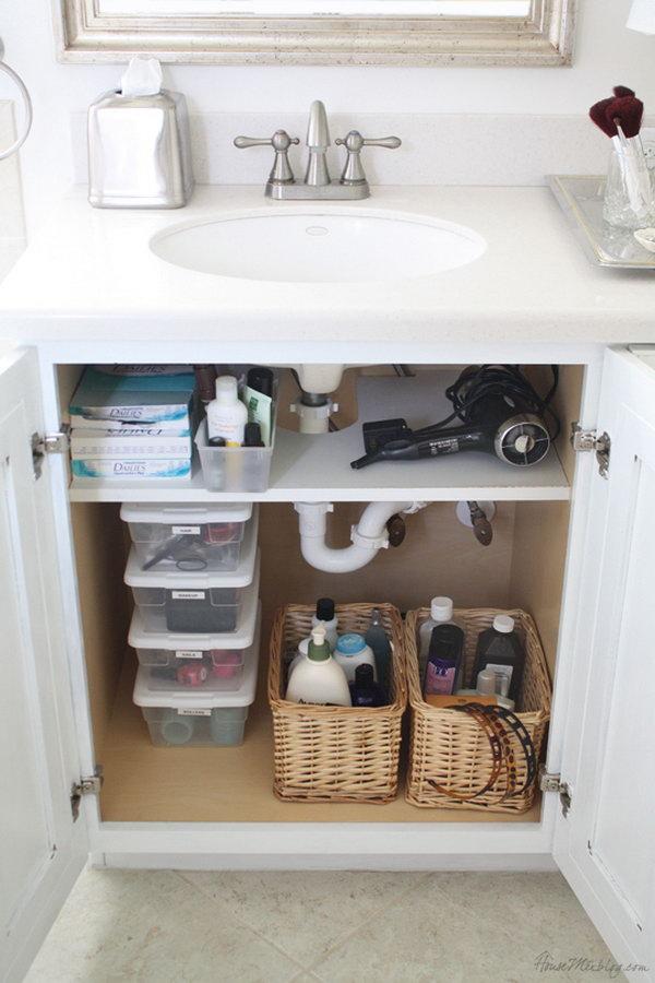 creative under sink storage ideas 2017