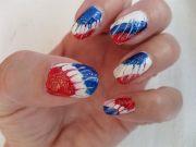flashing patriotic 4th of july