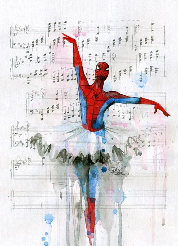 20 Cool Spiderman Drawings 2017