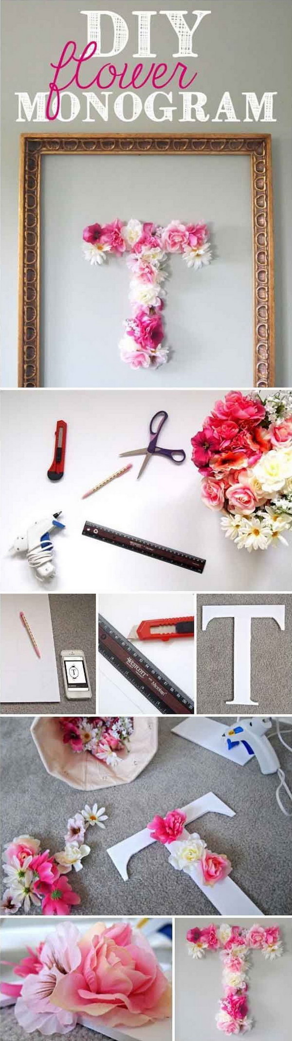 25 DIY Ideas  Tutorials for Teenage Girls Room