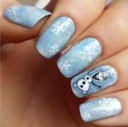 pretty christmas nail art ideas