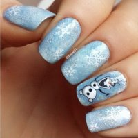 20 Pretty Christmas Nail Art Ideas & Designs 2017
