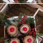 25 Diy Rustic Christmas Decoration Ideas Tutorials 2017