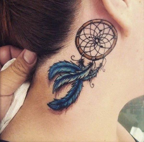 Small Wrist Dreamcatcher Tattoo