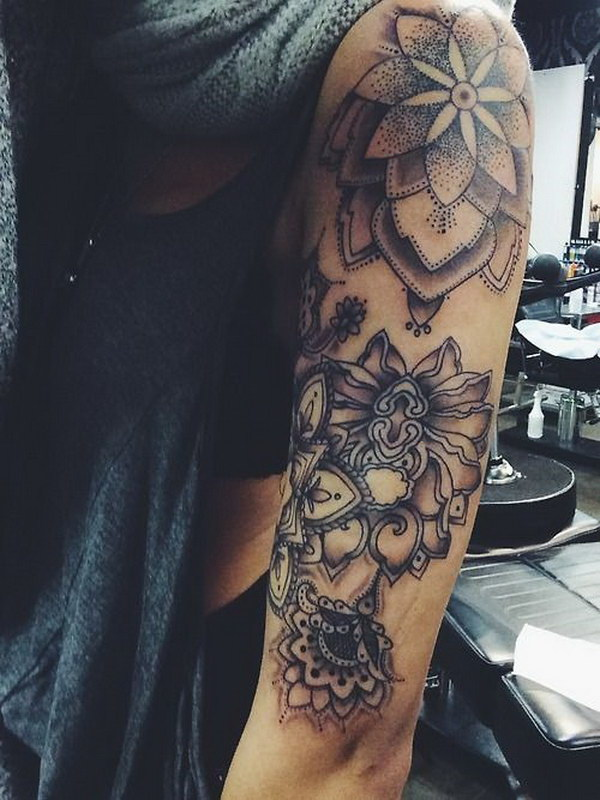 awesome sleeve tattoo design