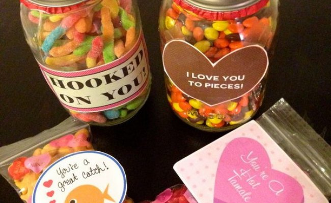 70 Diy Valentine S Day Gifts Decorations Made From Mason