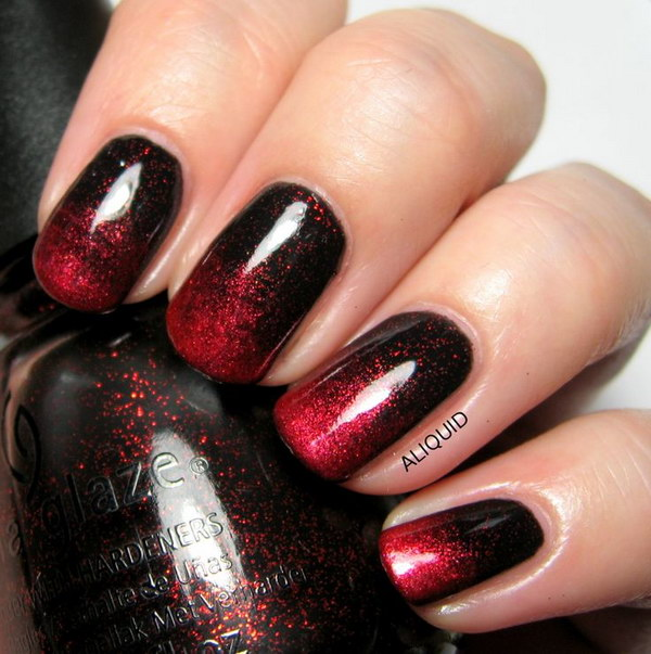 Dark Red Nail Ideas