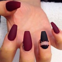 Pointy Red Nails Tumblr | Joy Studio Design Gallery - Best ...